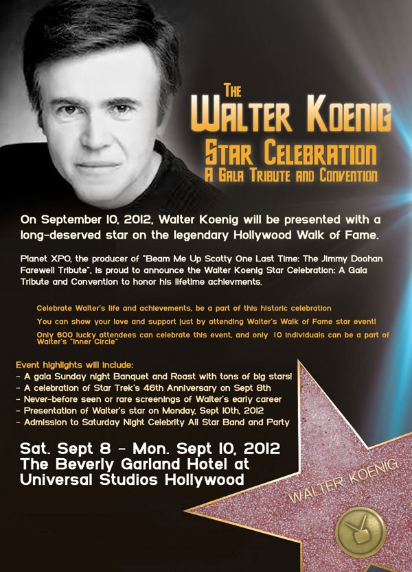 Walter Koenig Celebration