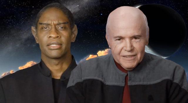 WATCH: Tim Russ & Walter Koenig Discuss the Star Trek: Renegades Web Series