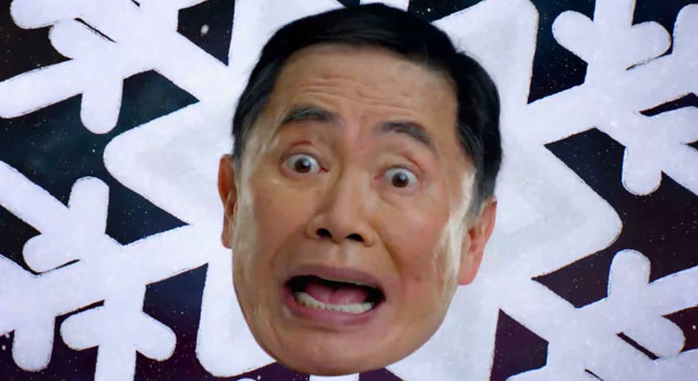 WATCH: George Takei in Old Navy Black Friday Commercial