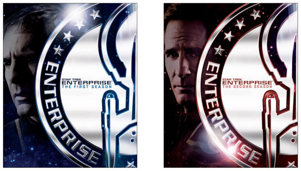Star Trek: Enterprise on Blu-ray - Cover design 3