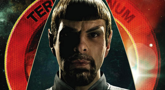 "Latest Issue of Star Trek Ongoing Comic Features Zachary Quinto as ""Mirror Universe"" as Spock"