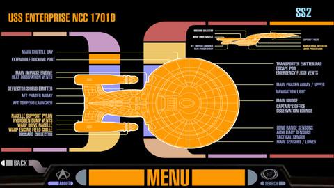 Star Trek PADD app for iPhone