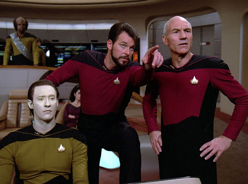 Star Trek Next Generation screengrab.