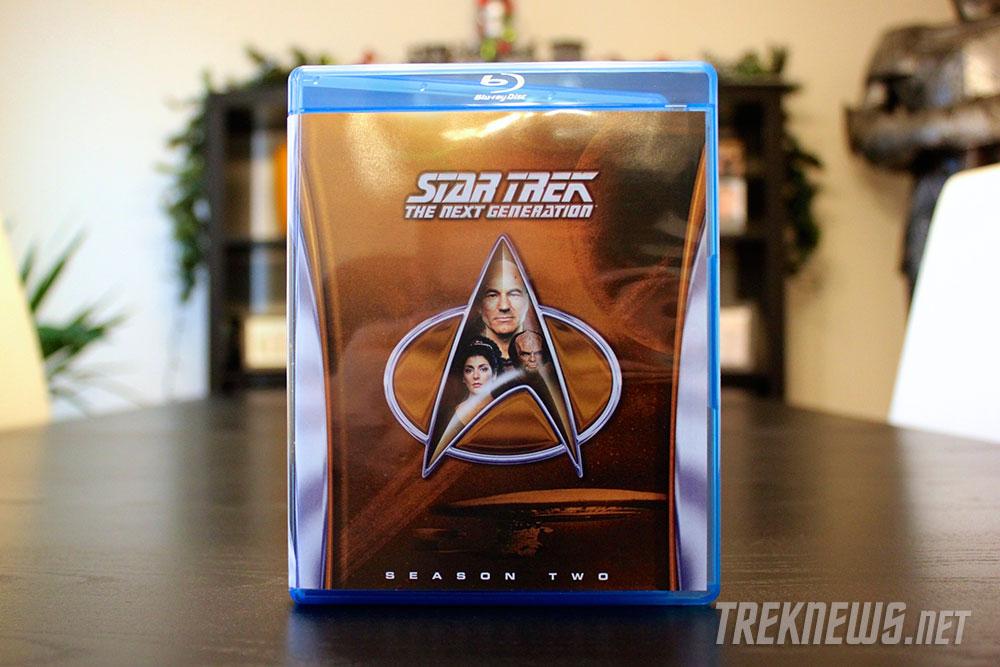 Star Trek: TNG Season 2 on Blu-ray cover art