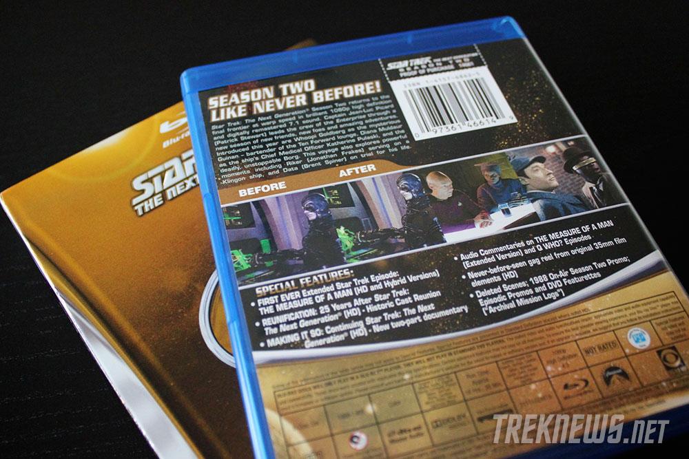 Star Trek: TNG Season 2 on Blu-ray