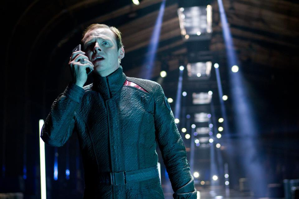 Simon Pegg as Scotty