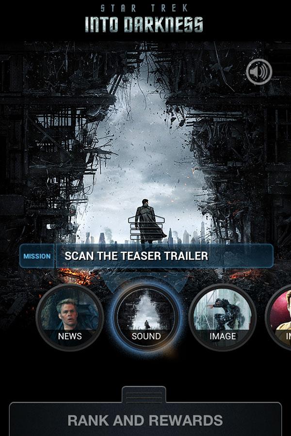 Star Trek Into Darkness Mobile App