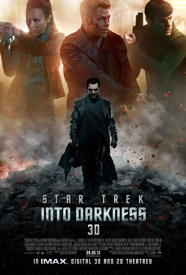 New STAR TREK INTO DARKNESS poster
