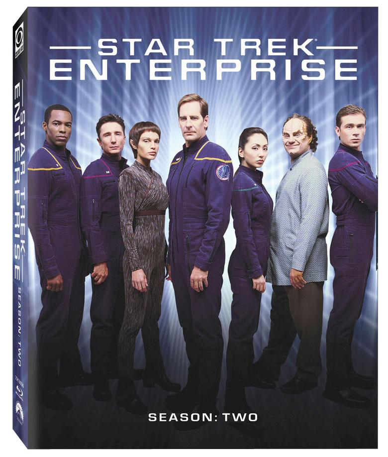 Star Trek: Enterprise Season 2 on Blu-ray cover art