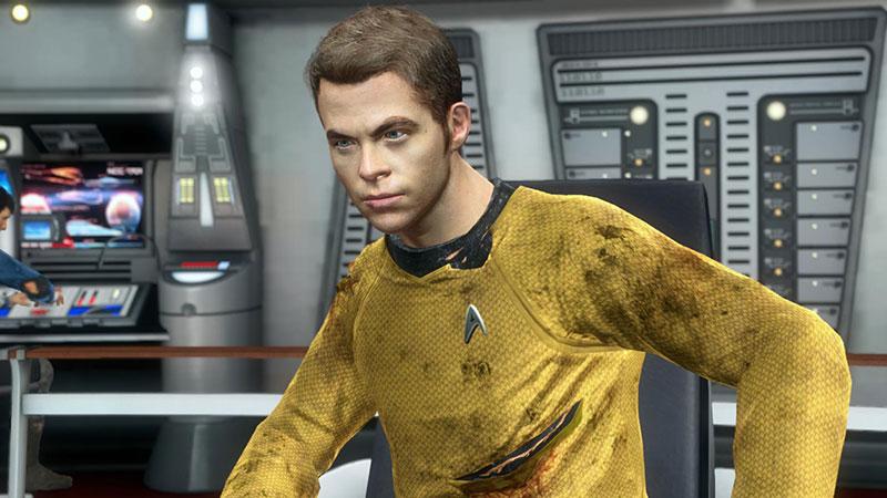 Captain Kirk in command
