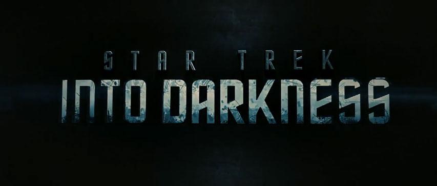 STAR TREK INTO DARKNESS title screen