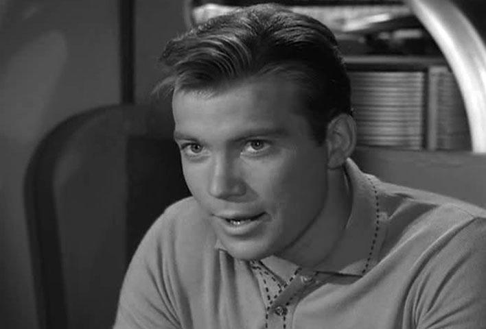 Shatner in The Twilight Zone