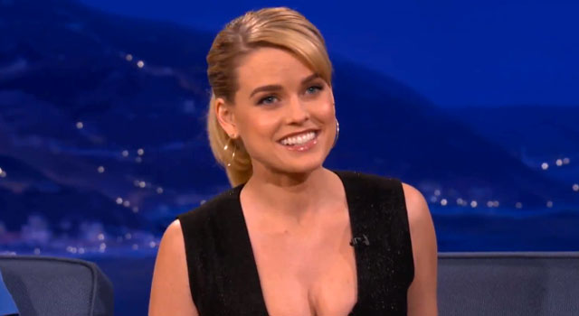 WATCH: Alice Eve On Being Cast In 'Into Darkness' and Being A Naughty Schoolgirl