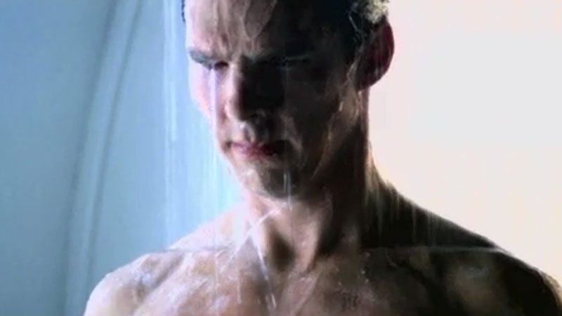 Deleted Benedict Cumberbatch shower scene