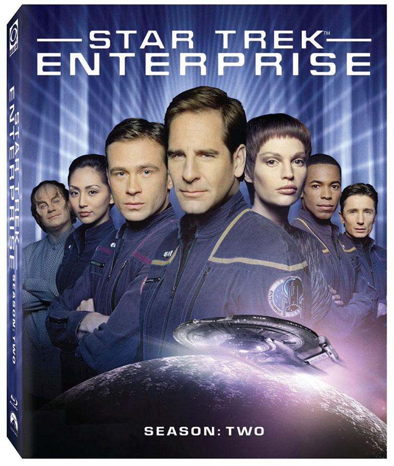Updated Star Trek: Enterprise — Season 2 on Blu-ray cover art