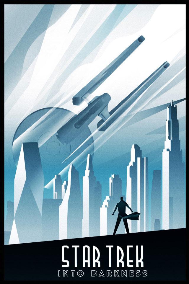 Star Trek Into Darkness by Rodolfo Reyes