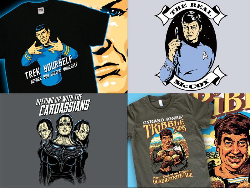 Prizes from T-Shirt Bordello