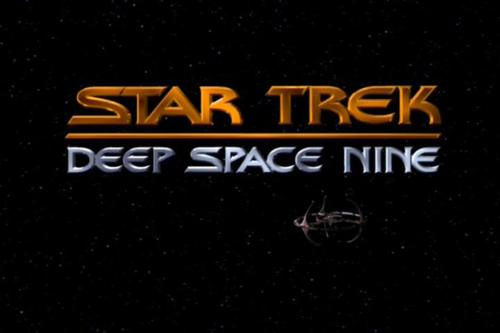 Final DS9 logo as it appears in the show's title sequence