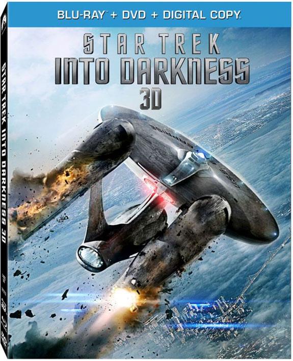 Star Trek Into Darkness 3D Blu-ray cover art
