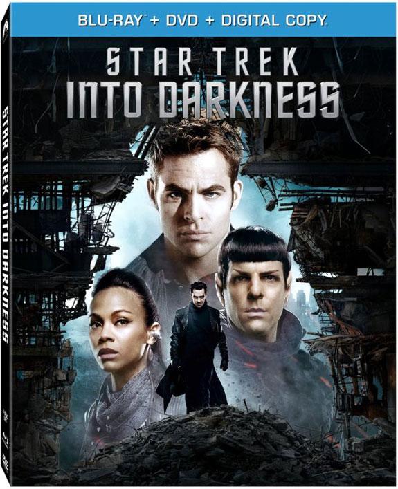 Star Trek Into Darkness Blu-ray cover art