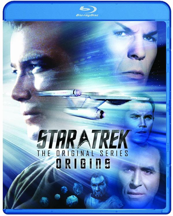 Star Trek: TOS - Origins cover art