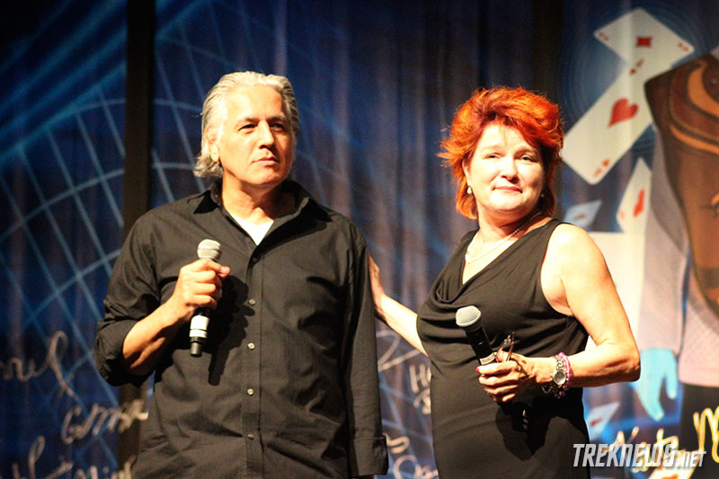 Robert Beltran and Kate Mulgrew