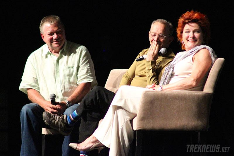 William Shatner, Joel Grey and Kate Mulgrew