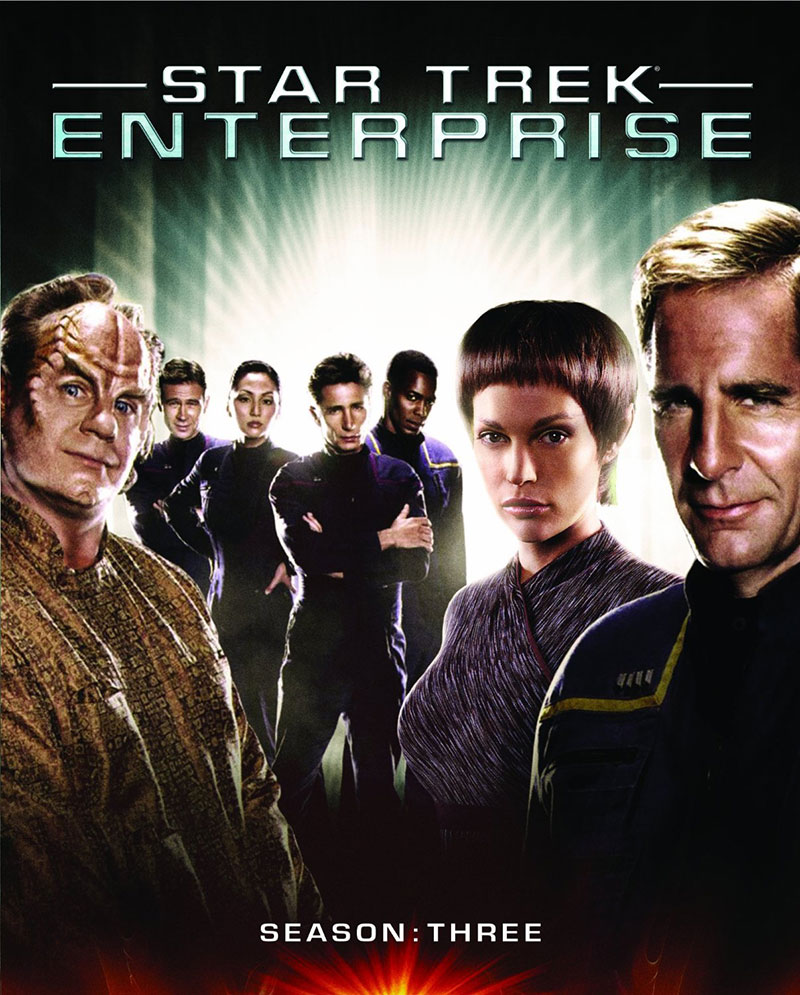 Star Trek: Enterprise Season 3 Blu-ray cover art
