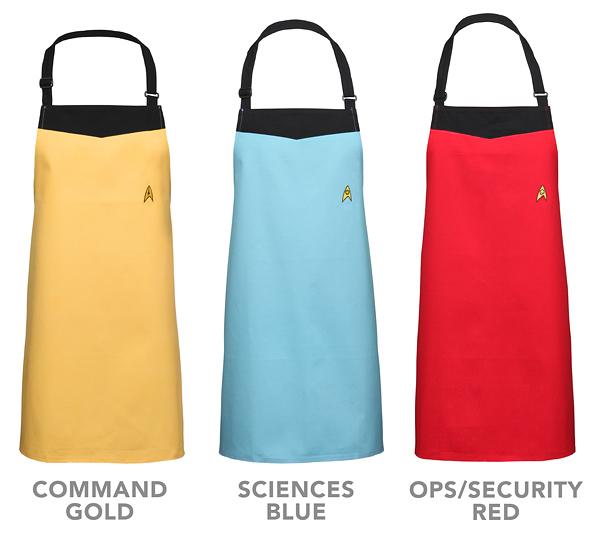 Star Trek Starfleet Uniform Apron