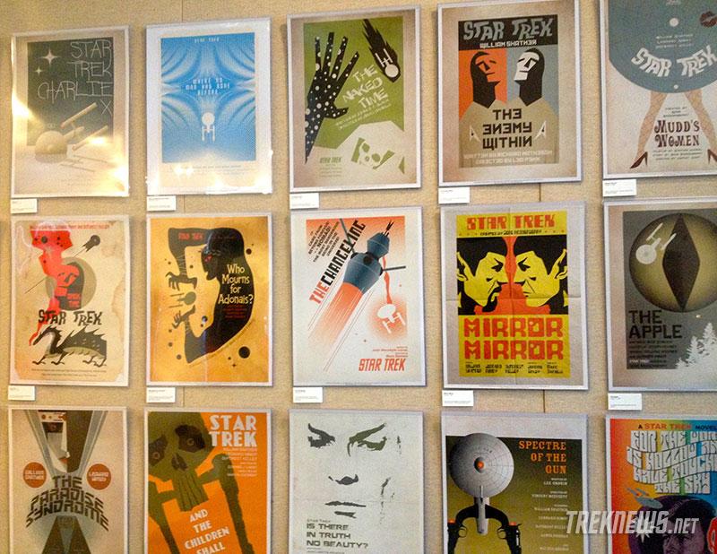 Juan Ortiz Star Trek Art Exhibit