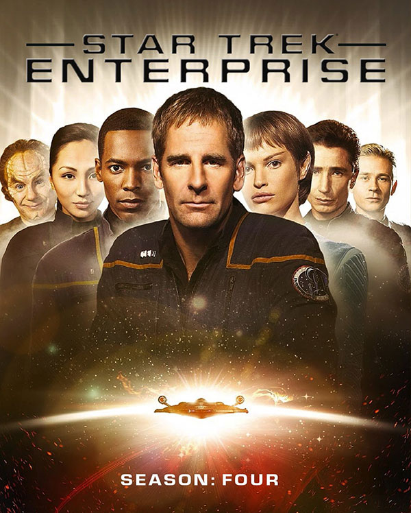 Star Trek: Enterprise, Season 4 Cover Art