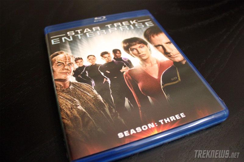 Star Trek: Enterprise - Season 3 on Blu-ray packaging