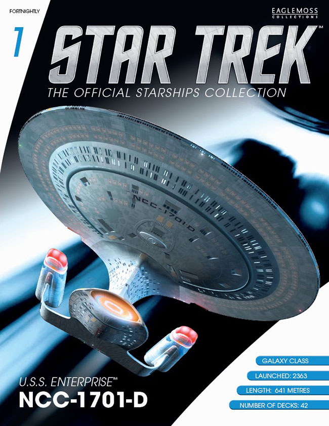 Star Trek Starships Collection Magazine