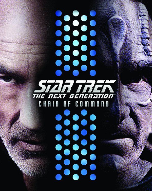 "Star Trek: TNG ""Chain of Command"" Blu-ray cover art"