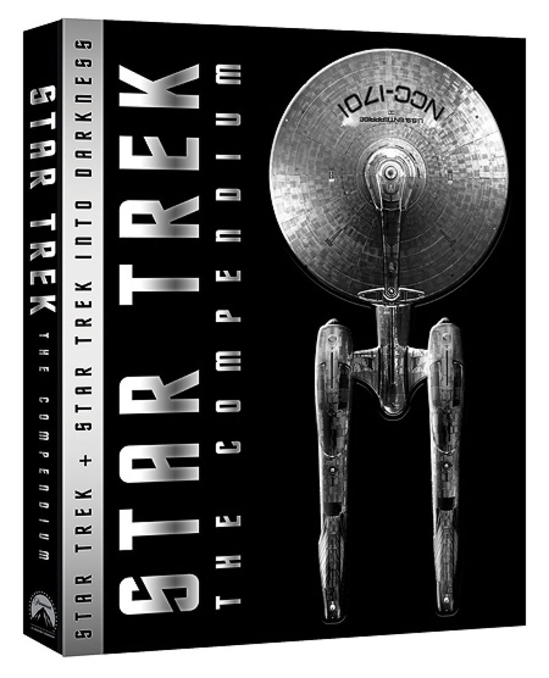 Star Trek: The Compendium Blu-ray cover art