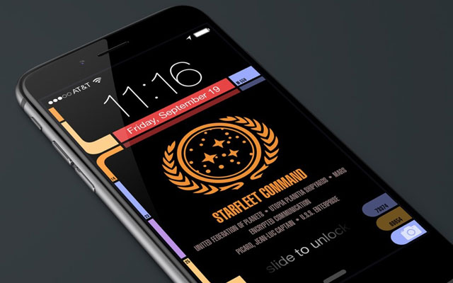 Sports Wallpaper For Iphone 6 Plus: TNG LCARS Wallpaper For IPhone 6 And 6 Plus