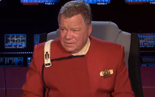 Shatner To Read 'The Autobiography of James T. Kirk' At SDCC