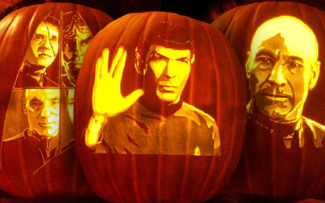 Check Out These Amazing Star Trek Jack O Lanterns