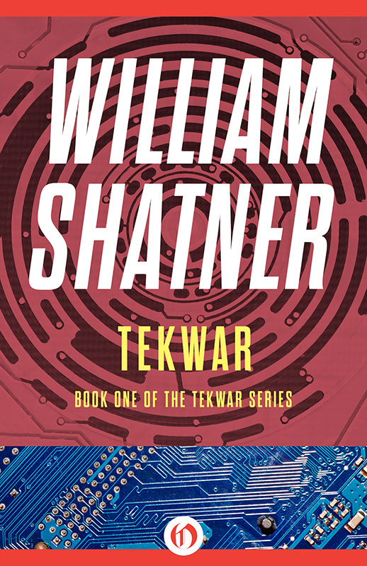 Cover art for William Shatner's 'TekWar'