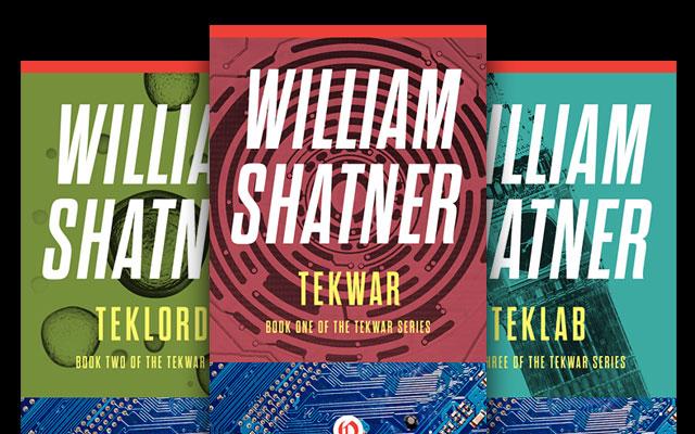 William Shatner's Complete 'TekWar' Series To Be Released In Ebook Format
