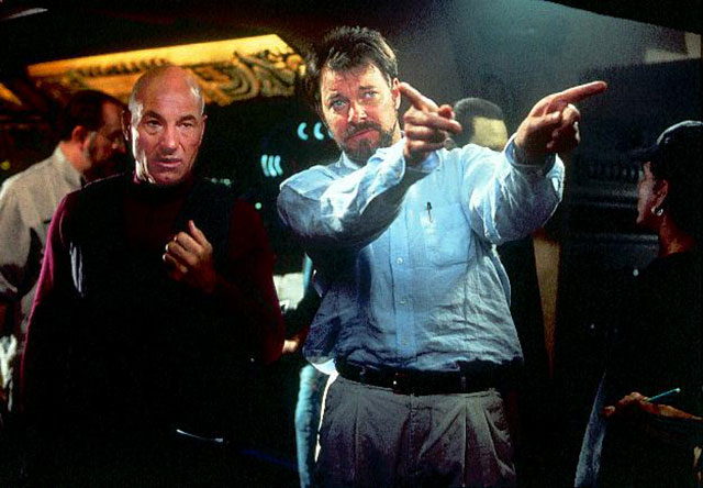 Frakes pulls double duty on the set of 'Star Trek: First Contact'