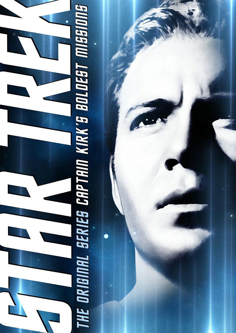 "Captain Kirk's Boldest Missions"" DVD"