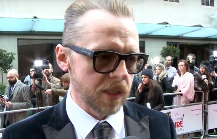 Simon Pegg Denies 'Star Trek 3' Rumor