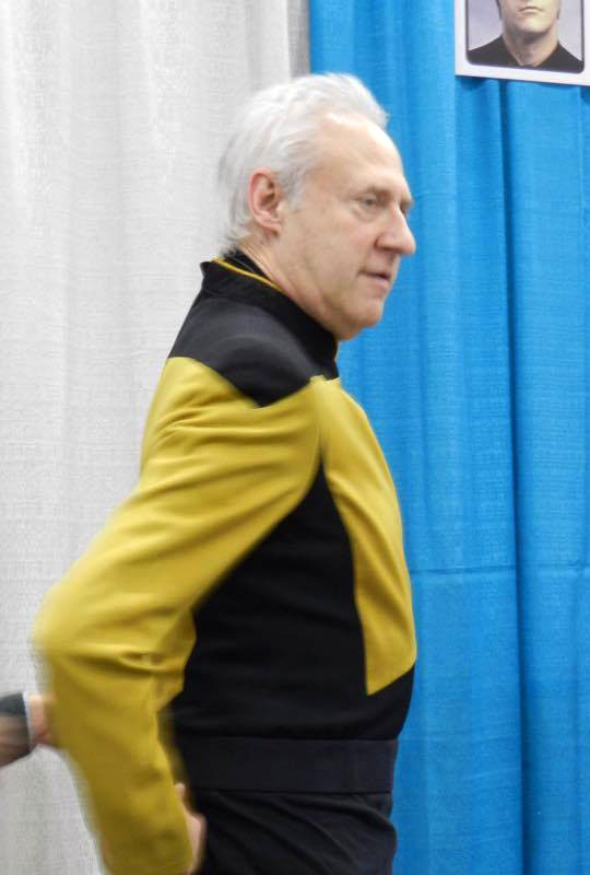 Brent Spiner at Fan Expo Vancouver
