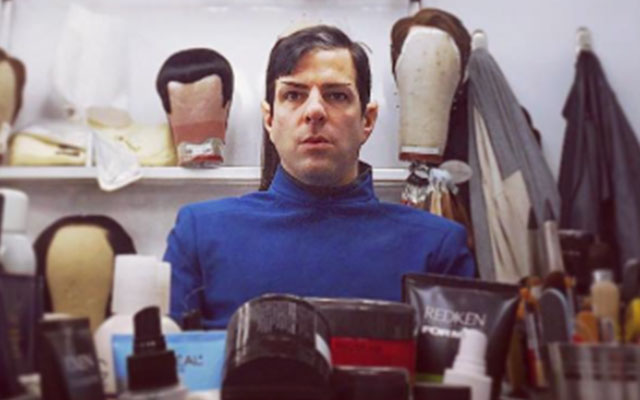 Quinto Gives Fans A Peek at the Wigs of STAR TREK BEYOND