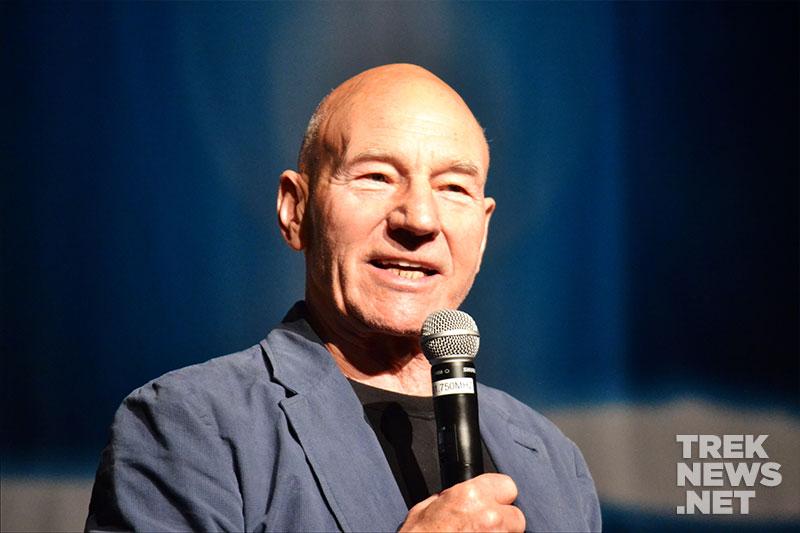 Patrick Stewart at STLV 2015