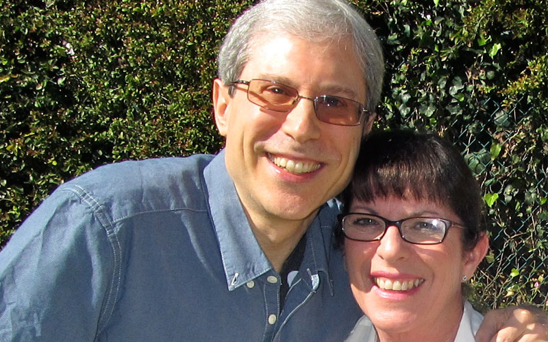 David Knight and Julie Nimoy (Photo provided by Julie Nimoy and David Knight)