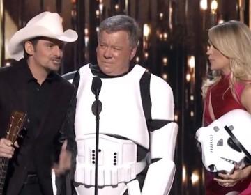 Shatner Goes 'Star Wars' At Country Music Awards