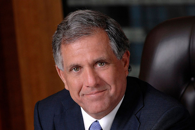 CBS President & CEO Les Moonves