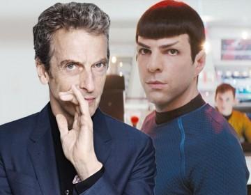 """Star Trek + Doctor Who? Steven Moffat Says """"I'd do it in a heartbeat"""""""